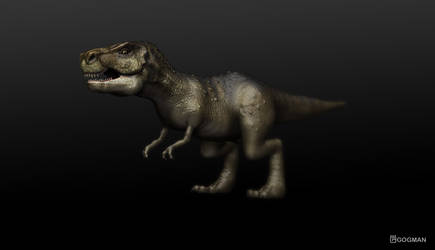 T-rex by gogman