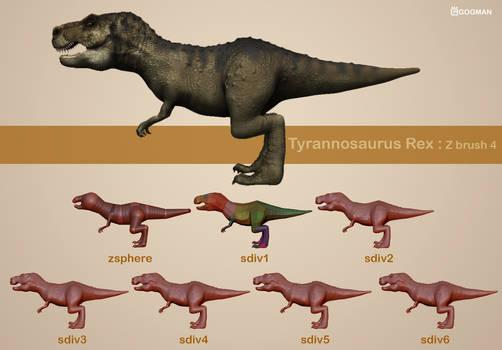 Process of T-rex