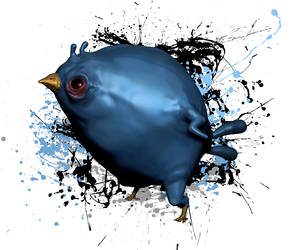 Power Angry Birds Blue