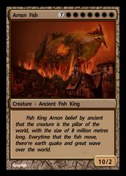 The Fish King Arnon by gogman
