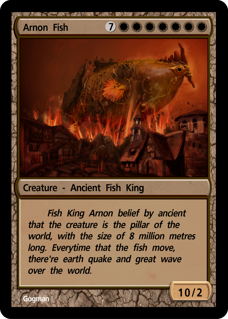 The Fish King Arnon by gogman