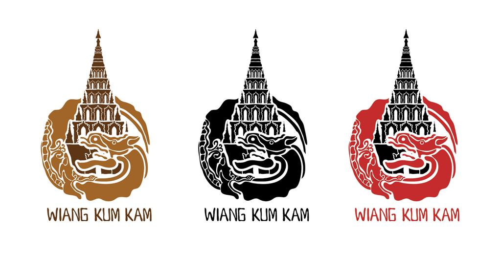 Wiang Kum Kam Logo by gogman