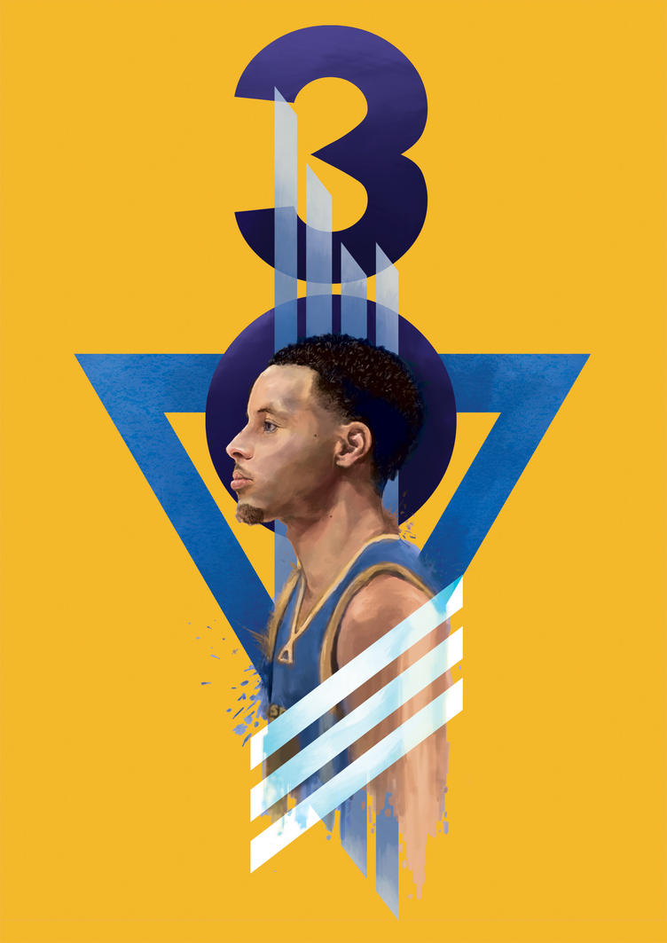 Steph Curry by gogman