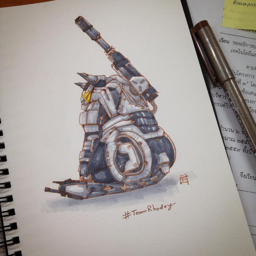 Cat War Machine by gogman