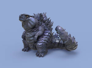 Look at me! Godzilla