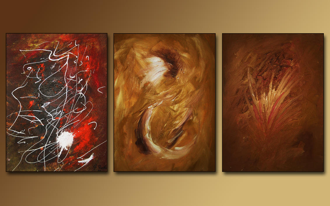 My three latest oilpaintings by subcity