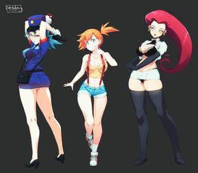 Pokegirls [Commission]