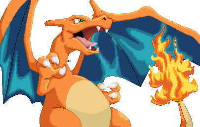 Charizard by RapidashKing