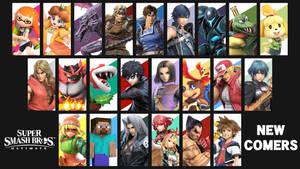 Super Smash Bros. Ultimate - Newcomers