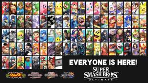Super Smash Bros. Ultimate - Roster Wallpaper