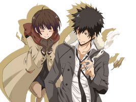 Kogami and Akane PNG-Picture