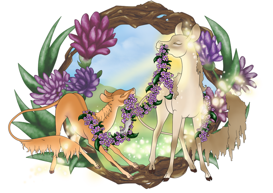 Flower Friends the Princess' Riddle