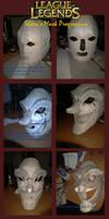 League of Legends: Shaco Mask Progression by FrozenHaka