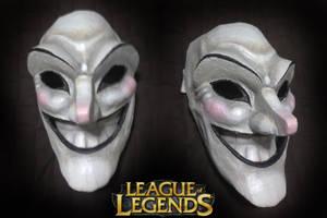 League of Legends: Shaco Mask by FrozenHaka