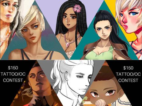 Tattoo OC Contest Poster