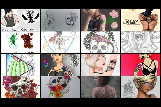 Tattoo OC Contest Entries