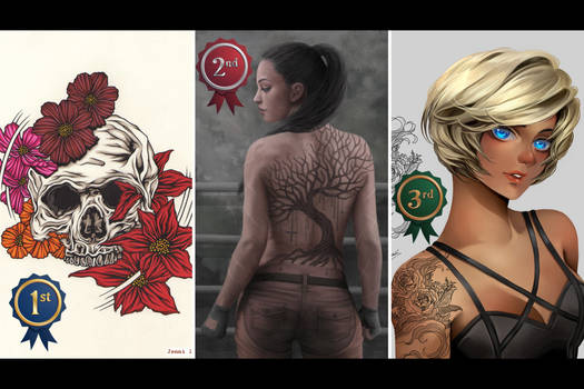 Tattoo OC Contest WINNERS