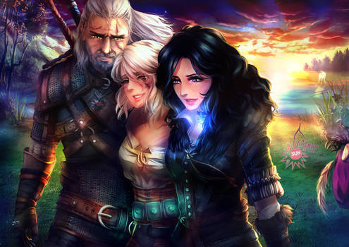 Witcher - Something ends, something begins
