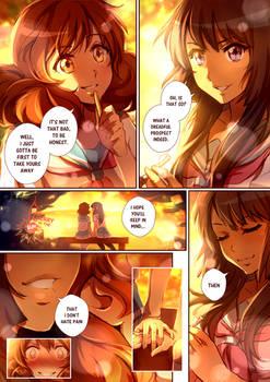 Reina x Kumiko short comic pg.3