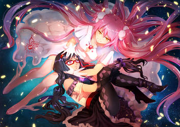 Madoka x Homura - I'll always be by your side