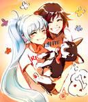 Ruby, Weiss and Zwei (RWBY)