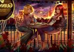 commission - Sayla and Christina by CherryInTheSun
