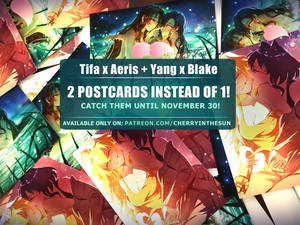 November postcards - yuri batch!