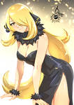 Cynthia - Golden Champion (Patreon Weekly Sketch) by CherryInTheSun