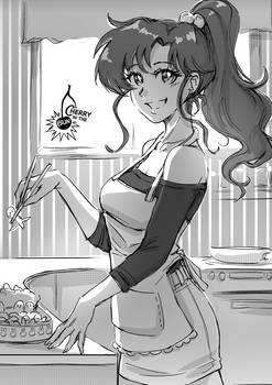 Makoto (Patreon Weekly Sketch)