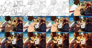step by step: Max x Chloe - what did you do...