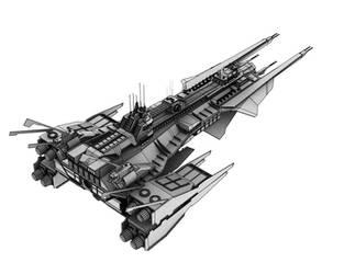 LC Ship by B1ackShard