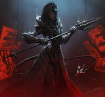 Isidora the Black Sentinel by Kookrite