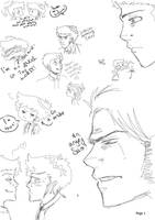 SPN-Doodles Pt1 by TickingCrocodile