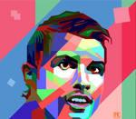 Christiano Ronaldo on WPAP by ridhosay