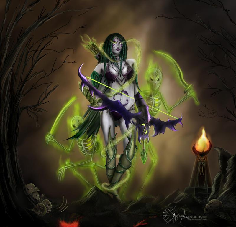 HoN: Forsaken Archer by Smaragdia