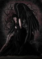 Angel in Sadness by Smaragdia