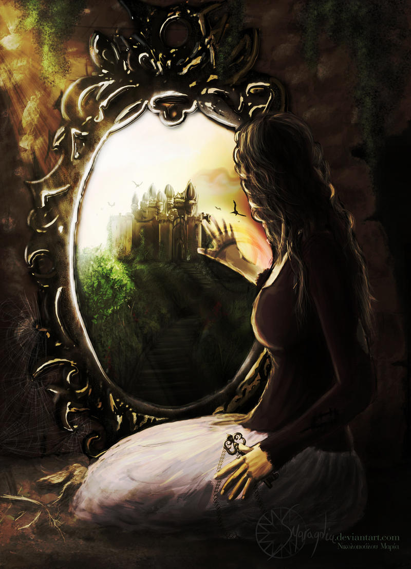 Mirror of dreams by smaragdia on deviantart for Looking for mirrors