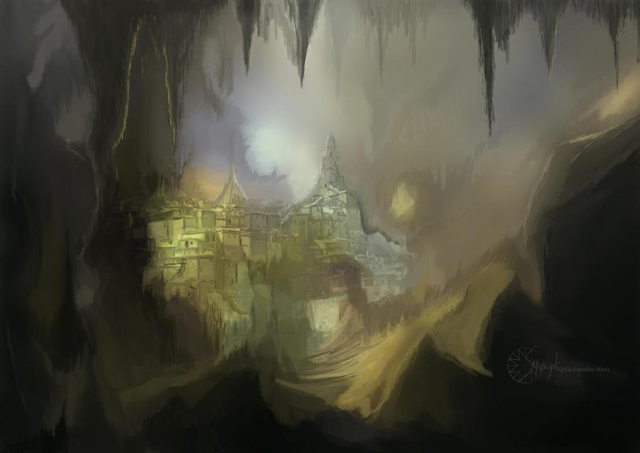 Hidden underground by Smaragdia