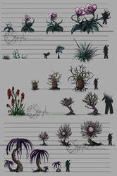 SG_Planet Concept_Plants by Smaragdia