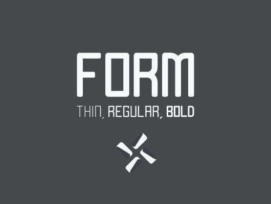 Form Sans Serif Font (free download) by blugraphic on DeviantArt