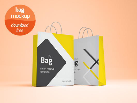 Bag Mockup Template - Psd by blugraphic