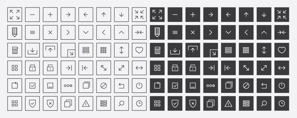 Vector Interface Icons (Ai / Eps) by blugraphic