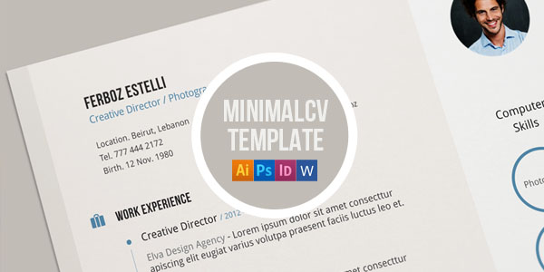 Cv / Resume Template by blugraphic