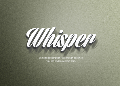 3D Metal Text Effect by blugraphic