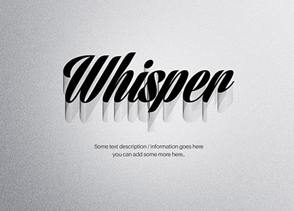 Wire Shadow Text Effect by blugraphic