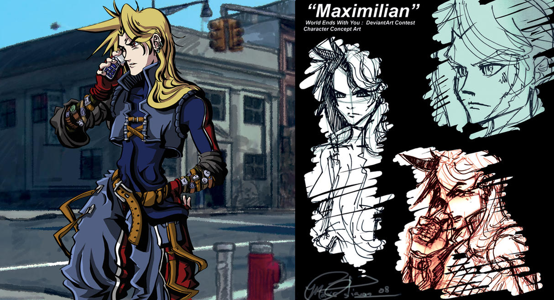Character Design: Maximilian by maximconcept