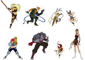 thundercats team updated by megusdragun