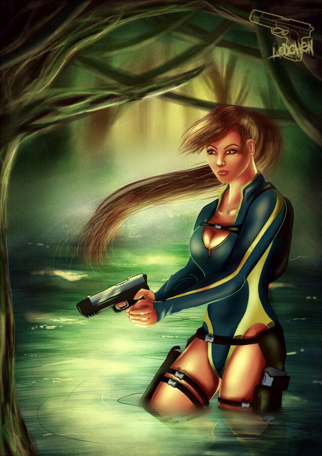 Remake Lara Croft Wetsuit by Lodchen