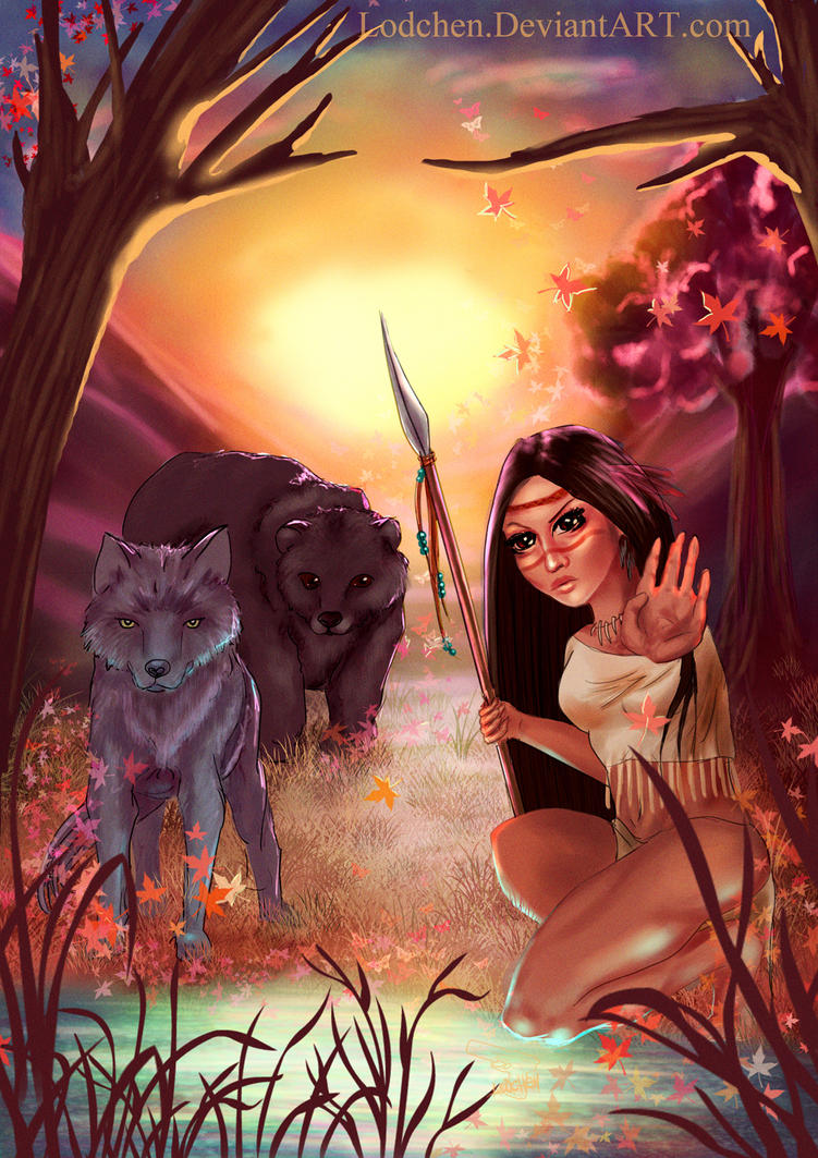 Queen of the Wild by Lodchen