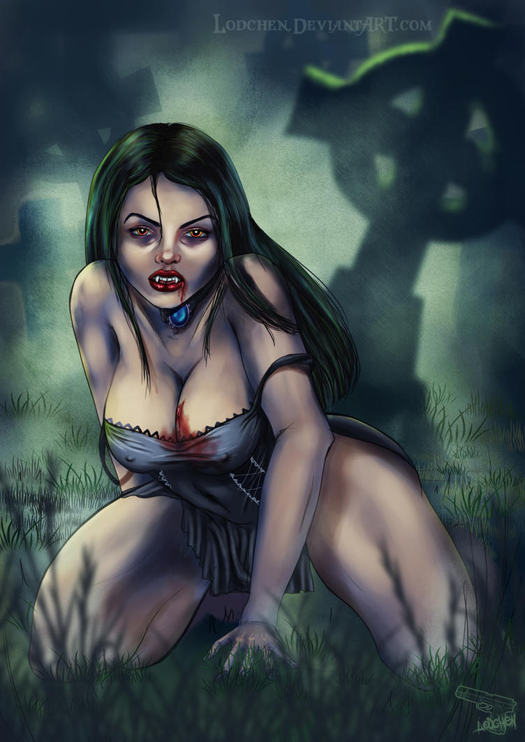 Vampire Lady by Lodchen
